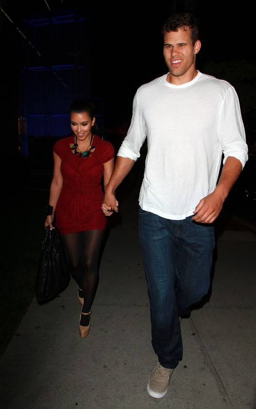 Kris Humphrie and Kim Kardashian